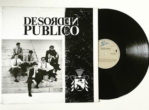 Álbum homónimo debut de Desorden Público (1988)